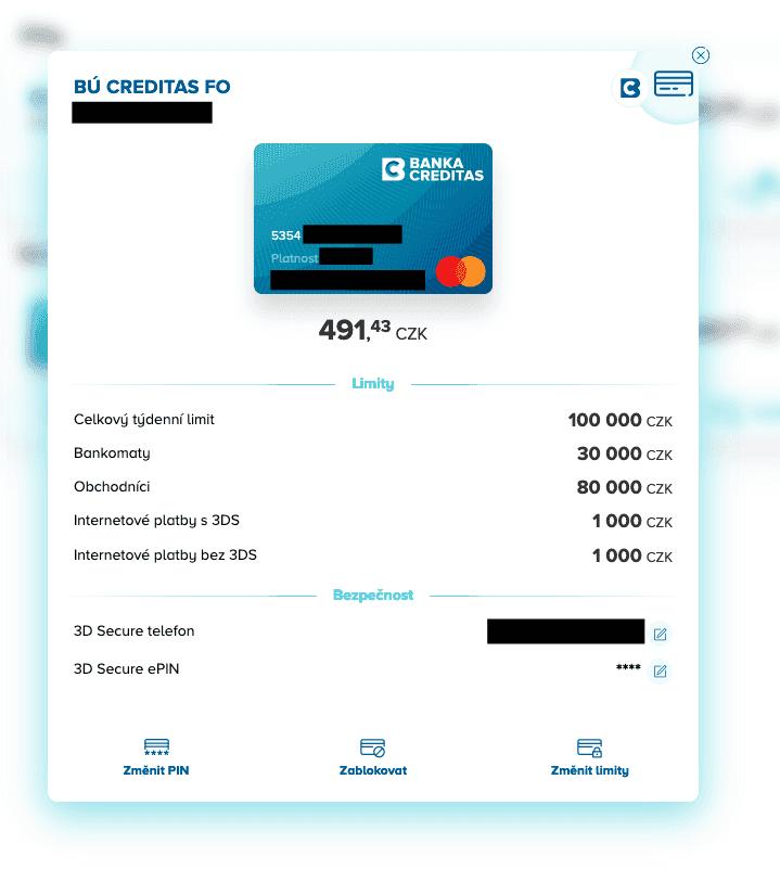 Platební karty a nastavení bezpečnosti