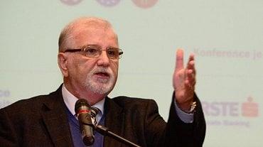 Jaroslav Hanák, prezident Svazu průmyslu a dopravy ČR.