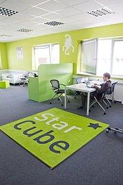 Prostory StarCube v Jihomoravském inovačním centru