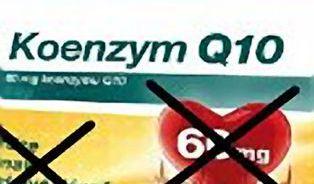 Koenzym Q10 už nesmí tvrdit, že prospívá zdraví srdce