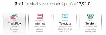 """Antik Telecom – nabídka """"3 v 1"""""""