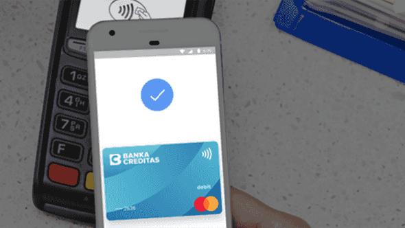 [aktualita] Banka Creditas zavádí Google Pay, letos nabídne i Apple Pay a Garmin Pay