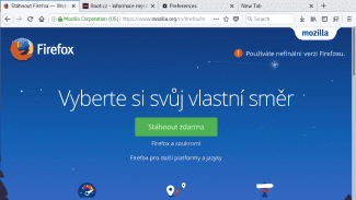 Root.cz: Firefox bude na podzim vypadat úplně jinak