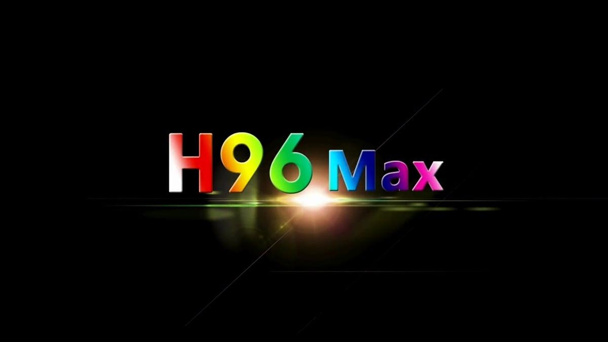 H96 Max H1 a H2 - hlavní menu