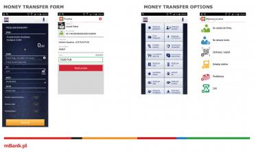 Mobilní bankovnictví musí být jednoduché a příjemné na ovládání.