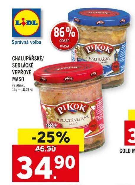 Polský výrobce dodává do obchodů falšované masové výrobky