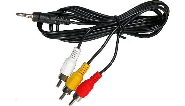 AV kompozitní kabel s redukcí