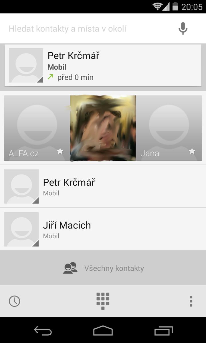 Android 4.4 KitKat - aplikace