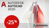 SW.cz: Využijte 25% slevy na AutoCAD 2020!