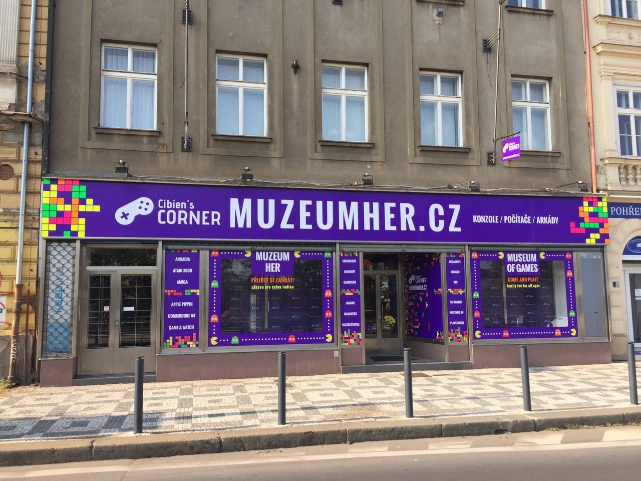 Cibien´s Corner: Muzeum her v Praze