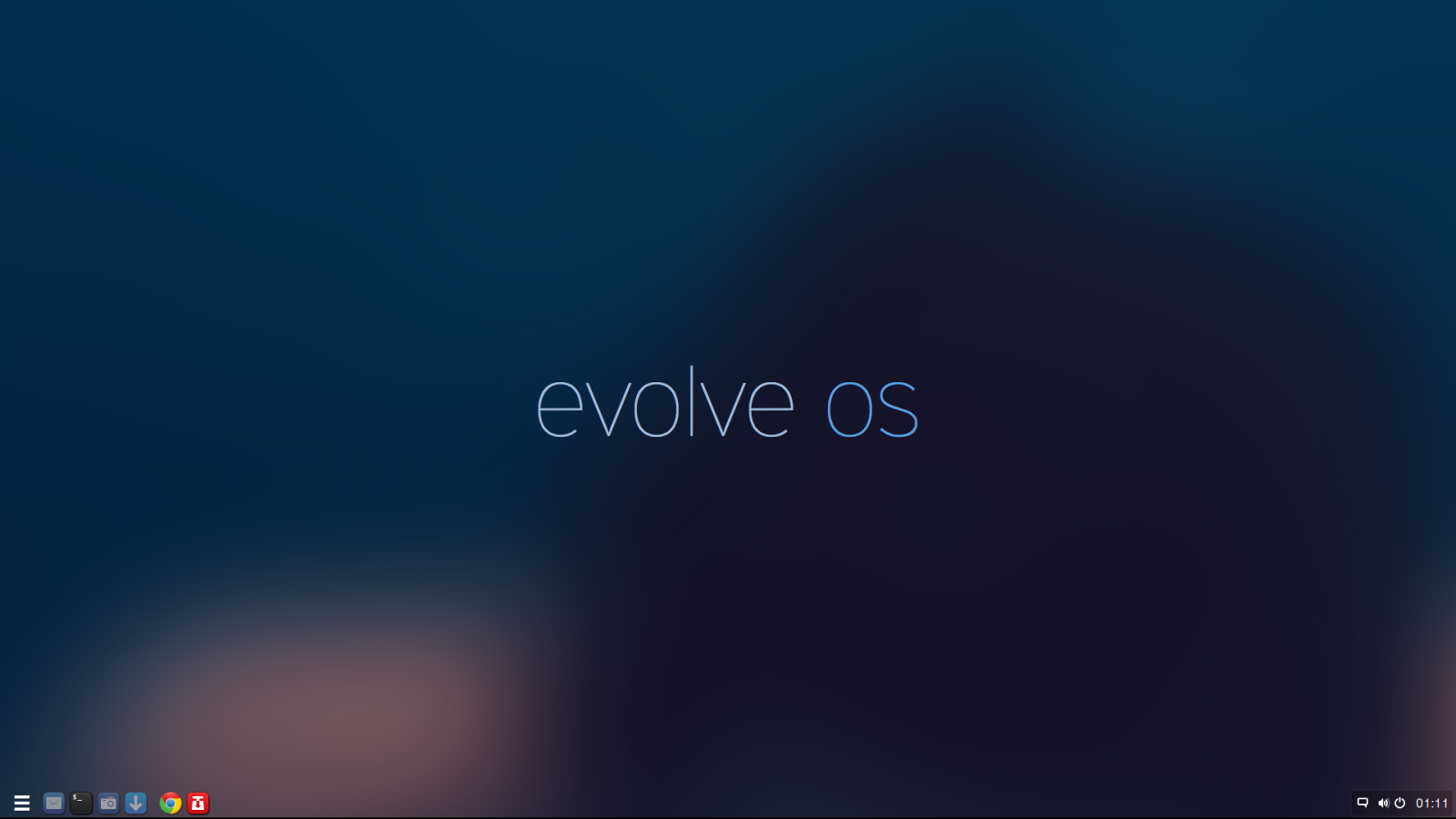Evolve OS Beta 1