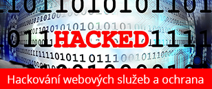 Hackování webových služeb a ochrana