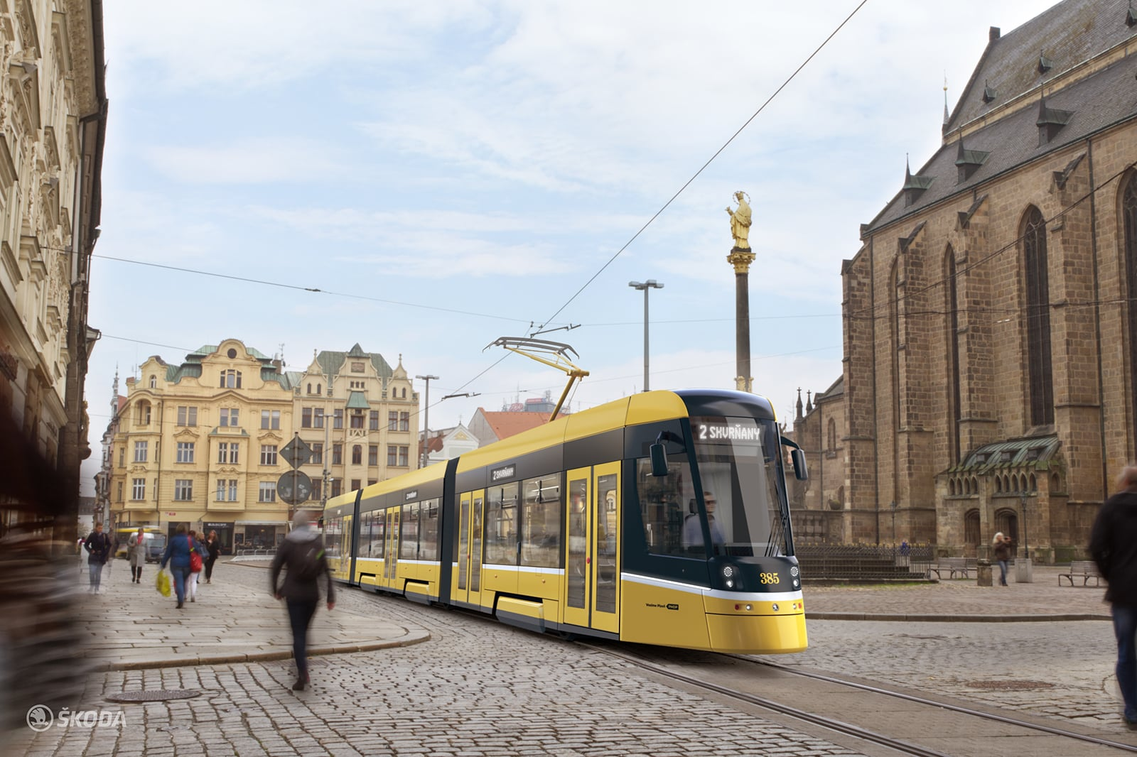 Autonomní tramvaje v Plzni
