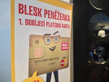 Tisková konference 15.10.2014 ke spuštění Blesk peněženky. Salónek České mincovny, Praha.