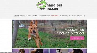 Handipet Rescue je útočiště pro handicapované, nemocné a týrané psy a kočky. (2.6.2020)