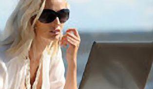 Na dovolené odpočívejte, práce neuteče