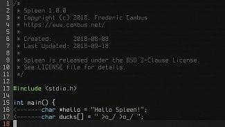 Spleen font OpenBSD