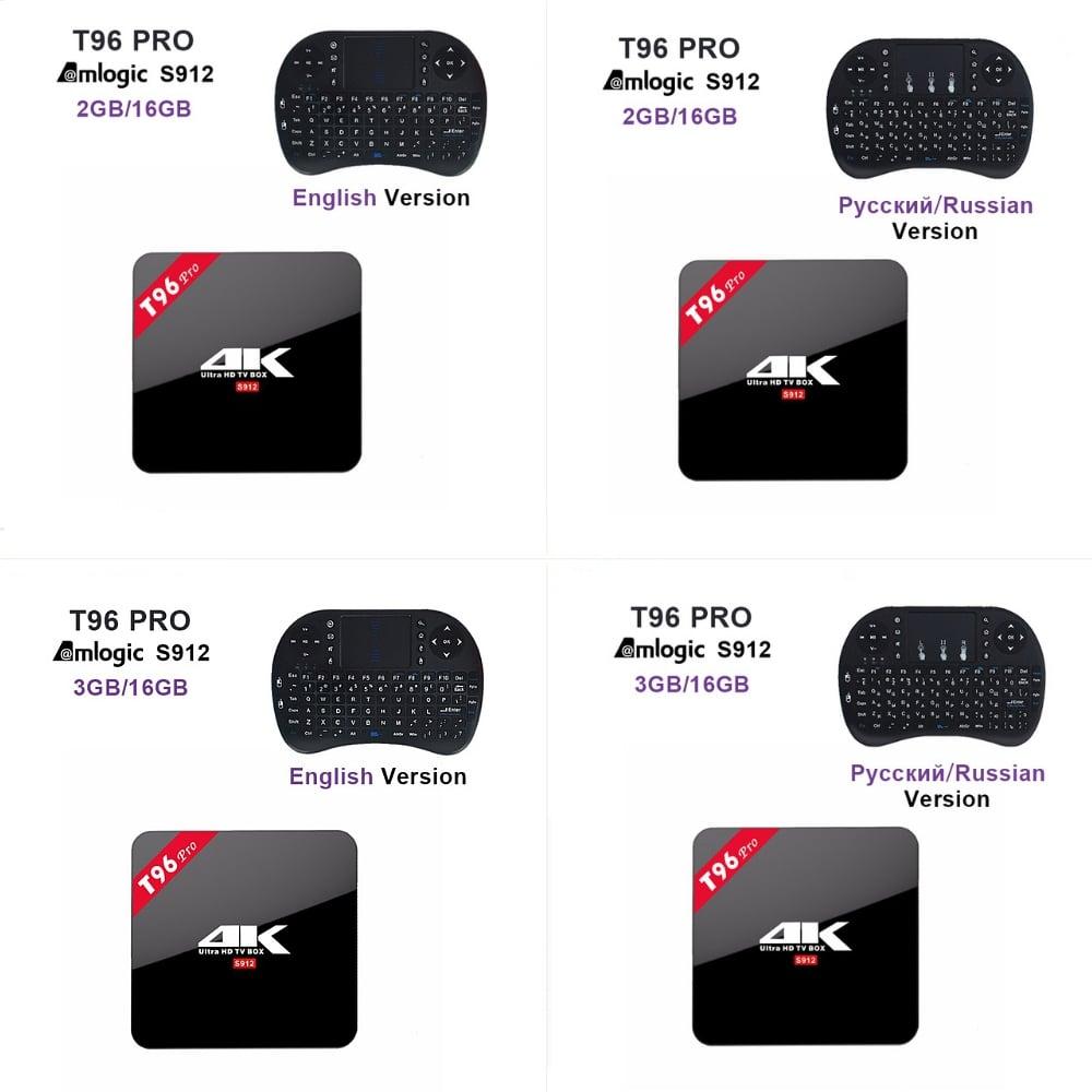 T 96 Pro + různé příplatkové periférie