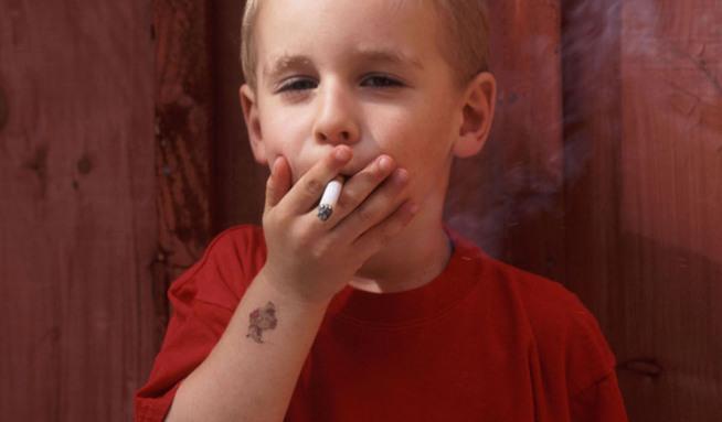 První deset kouření
