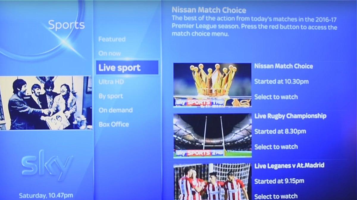 Volba Sky Sports