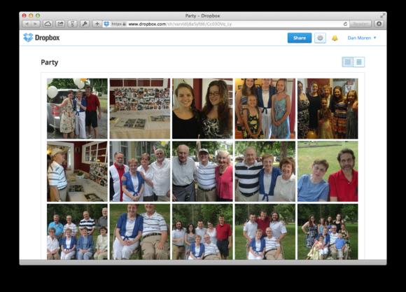 Kombinace účtu ke službě Dropbox a služby Send to Dropbox vám usnadní vytváření a sdílení kolaborativních fotoalb