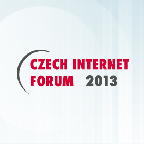 Logo Czech Internet Forum 2013