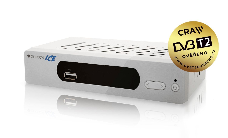 DVB-T2 ověřeno - Alma a Zircon