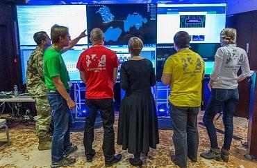 Kybernetické cvičení Locked Shields 2016.