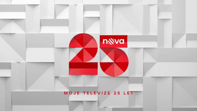 [aktualita] TV Nova slaví čtvrtstoletí vysílání, v prime time nyní oslovuje necelých 40 % diváků