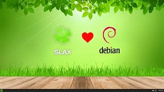 Slax desktop logo