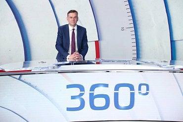 Michal Půr jako moderátor CNN Prima News