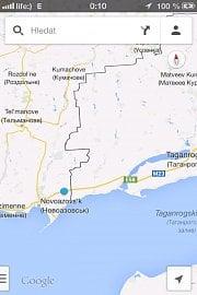 Přes Ukrajinu se dál východ dostanete nejrychleji přes Novoazovsk (UA) a Rostov na Donu (RUS). Ale teď se tam válčí a cesta není bezpečná.