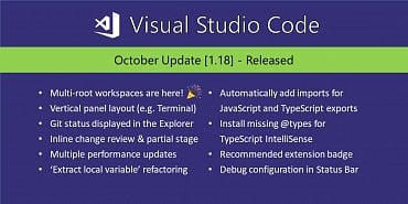 Visual Studio Code 1.18