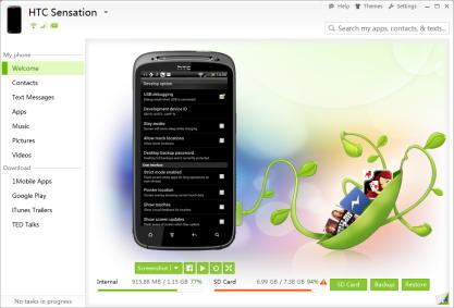 SnapPea synchronizuje váš tablet a smartphone s Androidem