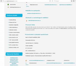 Jednatelem a provozovatelem webu Napisemezavas.cz je pan Martin Pondělíček.