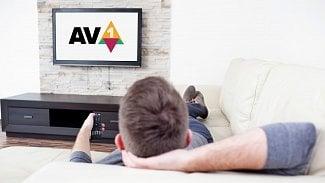 AV1 logo televize