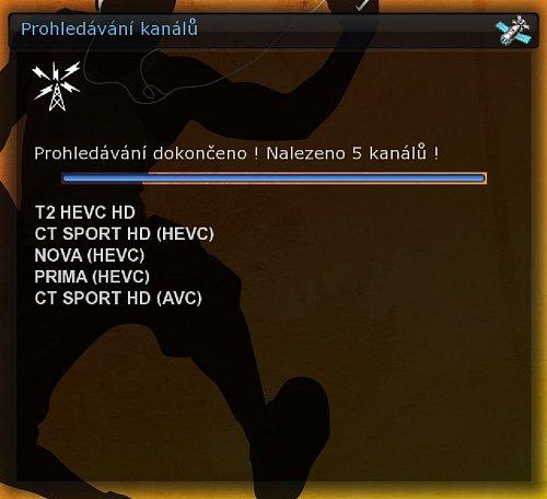 Aktuální složení experimentálního DVB-T2 multiplexu Českých Radiokomunikací
