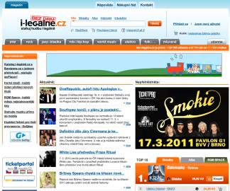 Tohle může být jeden z posledních screenshotů fungujícího webu i-legálně.cz (02/2011)