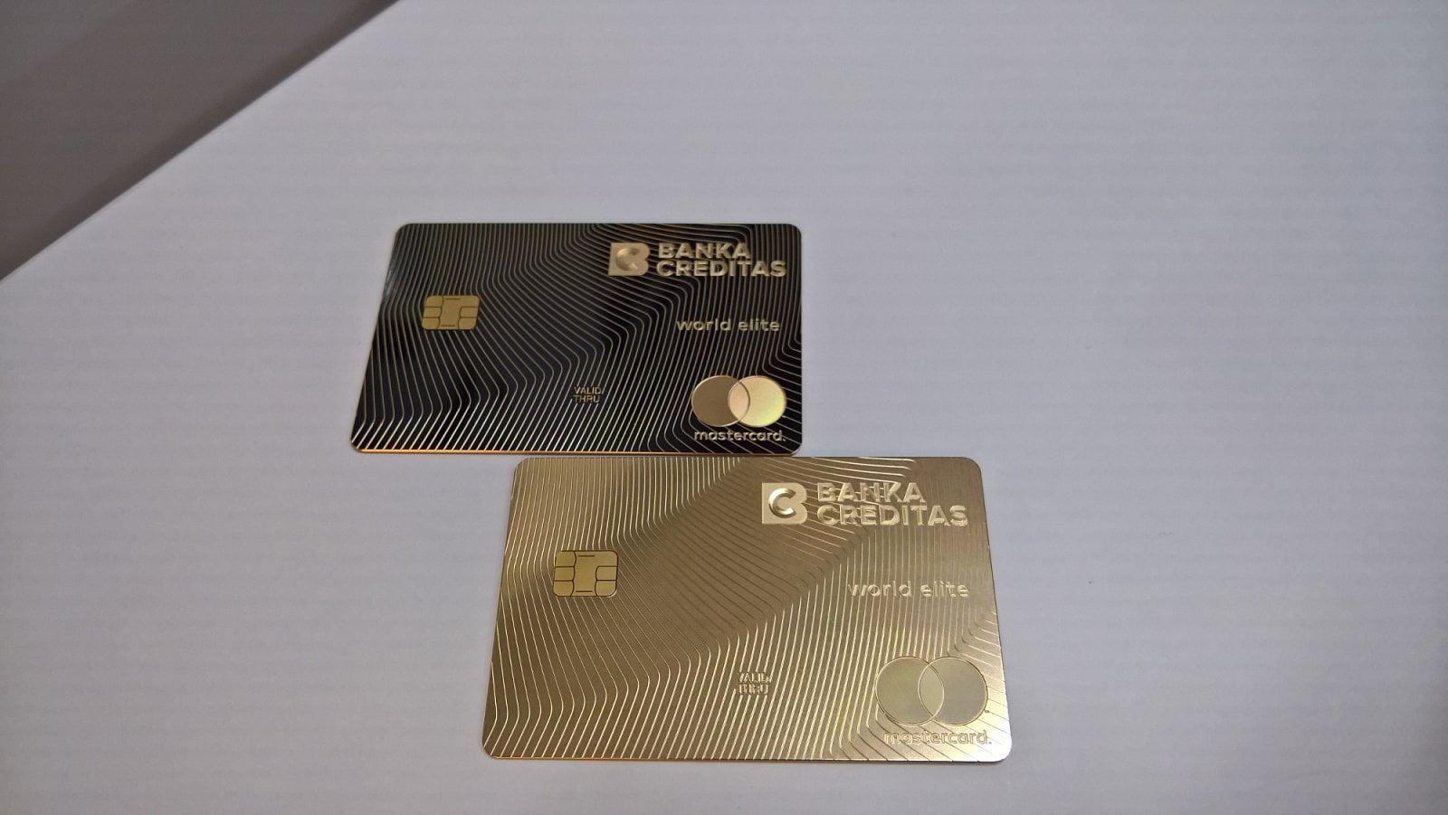 Karty Real Gold od Banky CREDITAS