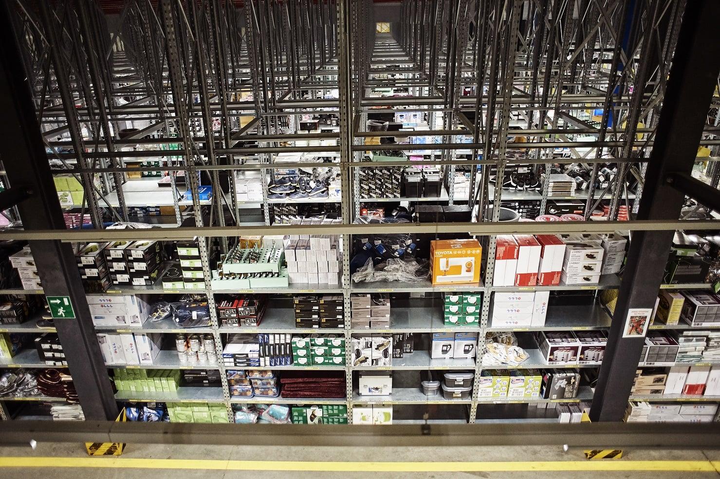 Distribuční centrum Lidlu