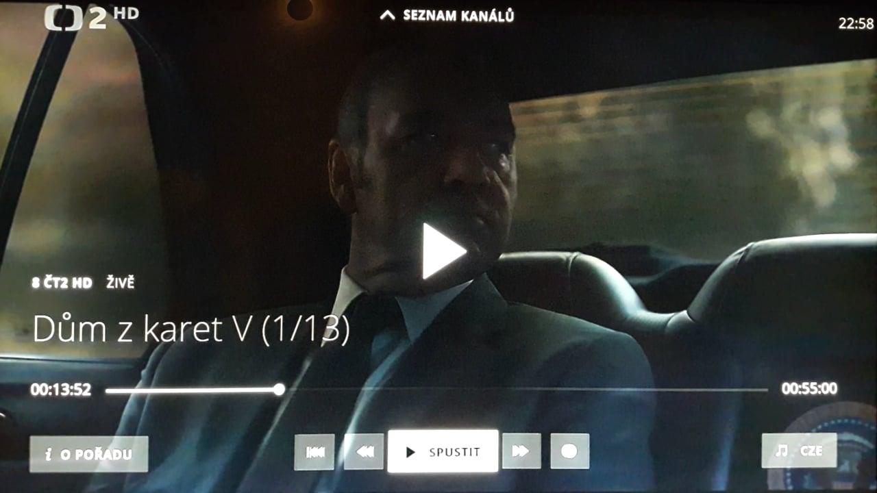 O2 TV - funkce
