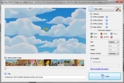 Pomocí Free HTML5 Video snadno převedete a vložíte videa na svůj web v HTML5