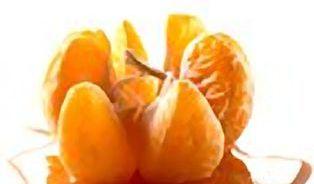 Tajemství 100% džusů z koncentrátu: vysušené pomeranče