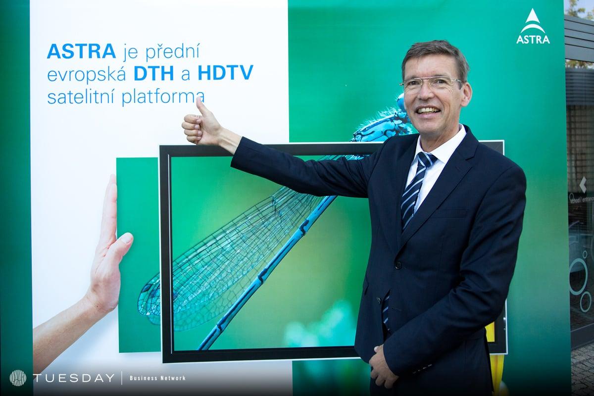 Thomas Wrede, SES Astra