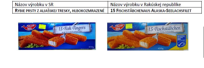 Dvojí kvalita potravin na Slovensku. Druhý test
