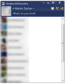 <p>FacebookDiscovery - chat na Facebooku přímo na vaší ploše</p>