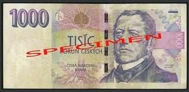 Poškozené bankovky: Bankovka opotřebená oběhem: Zašpiněná bankovka. Fyzická osoba: vrací zpět do oběhu. Právnická osoba a směnárník: nevrací zpět do oběhu a předávají ji ČNB