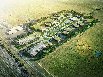 Strategická průmyslová zóna Triangle.