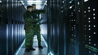 Vojáci v datacentru