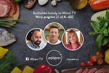 Mňam TV - zahraniční hvězdy, podzim 2017.
